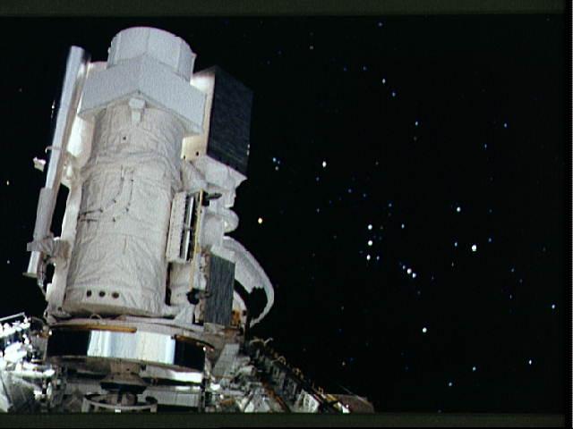 El Astro 1 en órbita