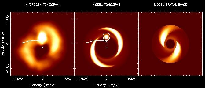 IP Pegasi: estrella espiral