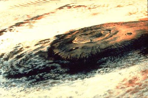 Olympus Mons en Marte: el Mayor Volcán
