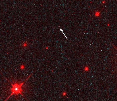 Una estrella de neutrones solitaria