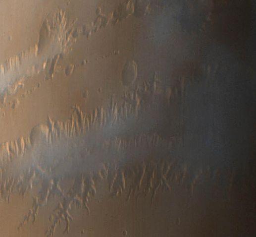 Marte: Niebla En El Valle Del Marinero