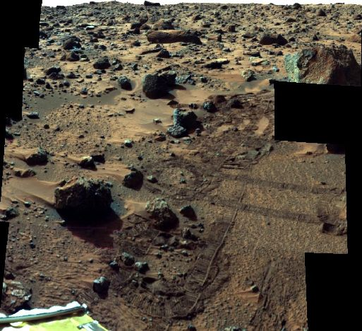Super Paneo de la Mars Pathfinder