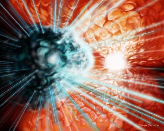 Láseres en Eta Carinae