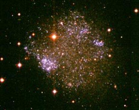 La galaxia irregular Sextans A