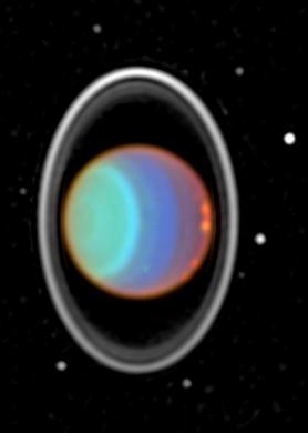 Lunas, Anillo y Nubes de Urano