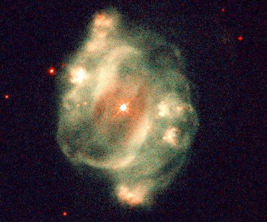NGC 5307: Una nebulosa planetaria simétrica