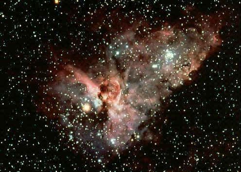La nebulosa «Ojo de cerradura»