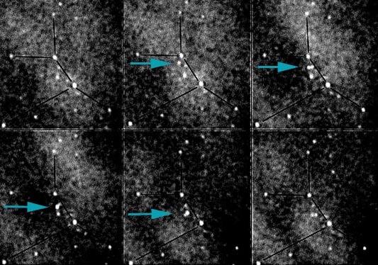 Sonda espacial interplanetaria pasa por la Tierra