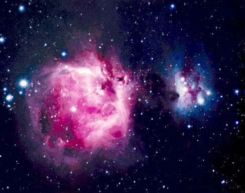 La gran nebulosa de Orión