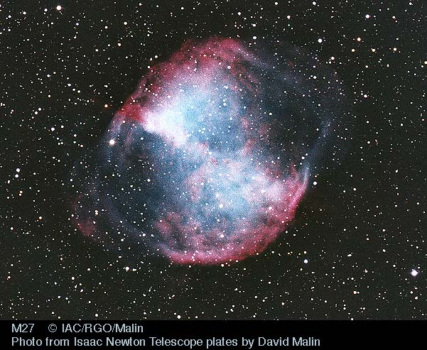 M27: La nebulosa Dumbbell