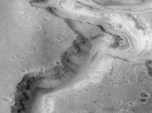 ¿Un lecho de río marciano?