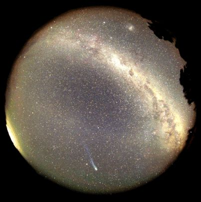 Un panorama del cielo austral