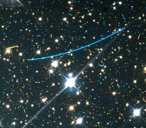 Asteroides en la distancia
