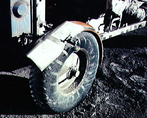 Apod May 1 1999 Lunar Dust And Duct Tape