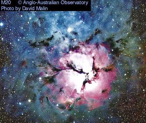 M20: La Nebulosa Trífida.