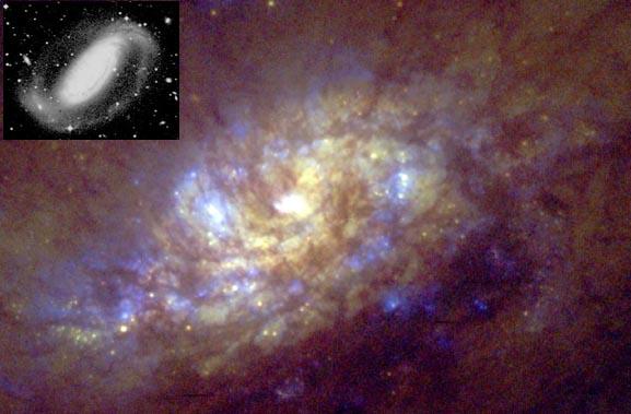 Nacimiento de estrellas en NGC 1808