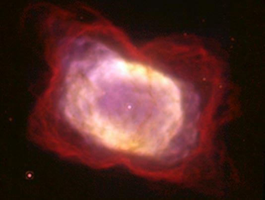 La Nebulosa Planetaria NGC 7027 en Infrarrojo