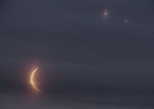 Un Doble Eclipse Conjunción
