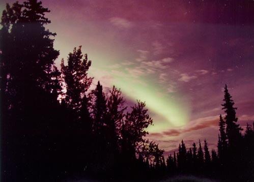 Aurora en la medianoche