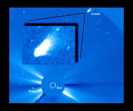 Imagen de un descubrimiento: Cometa SOHO (1998 J1)