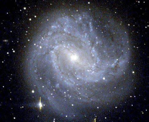 M83: Una galaxia espiral barrada