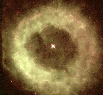 NGC 6369: Una nebulosa con forma de dónut