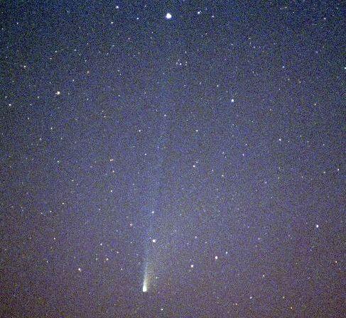 El brillante Cometa SOHO