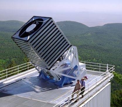 El telescopio Sloan Digital Sky Survey