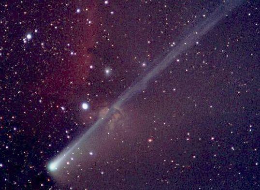 El Cometa SOHO y la Nebulosa en Orión