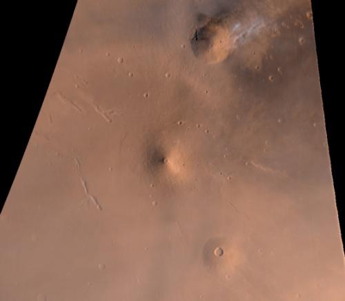 Volcanes en Marte: La Región de Elysium
