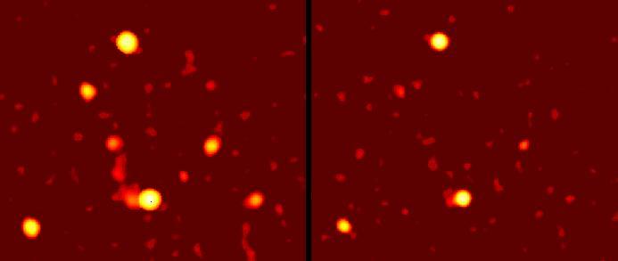 El potente corazón de la Vía Láctea