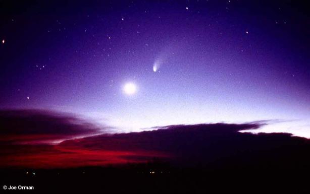 Hale-Bopp: El cometa agradador de público