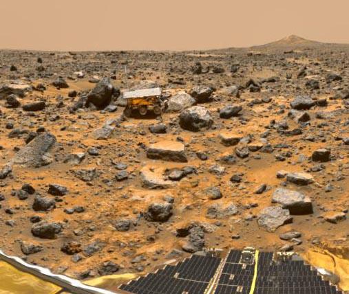 Trabajando en Marte