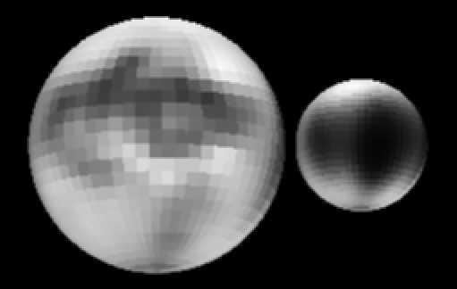 Los misteriosos Plutón y Caronte