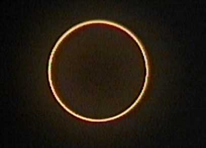 Un eclipse anular de sol