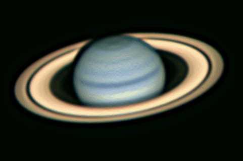 Saturno desde La Tierra