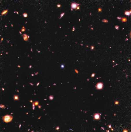 El Campo Profundo Hubble en infrarrojo
