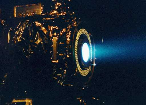 Un motor de iones para la Deep Space 1