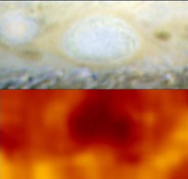 Júpiter: cuando las tormentas chocan