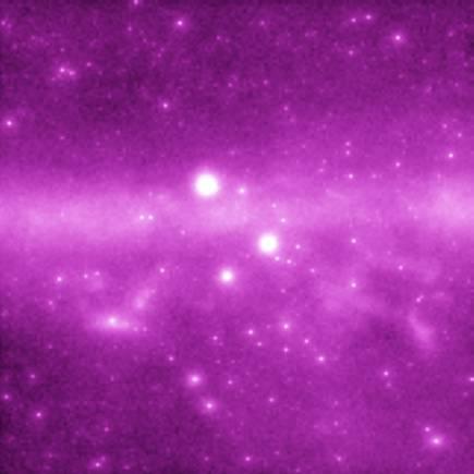 La simulación GLAST del cielo en rayos gamma