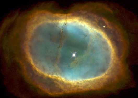 NGC 3132: la nebulosa del estallido en ocho