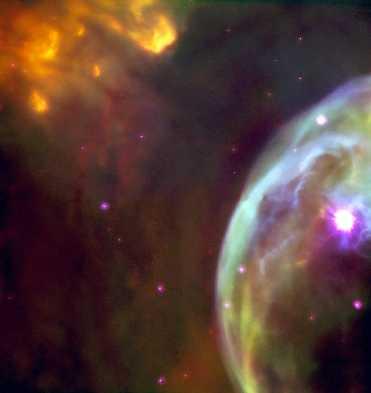 Acercamiento a la Nebulosa de la Burbuja