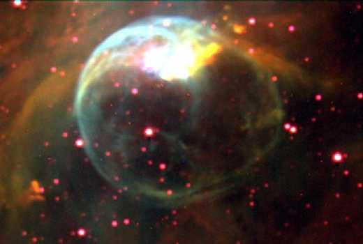 NGC 7635: la Nebulosa de la Burbuja