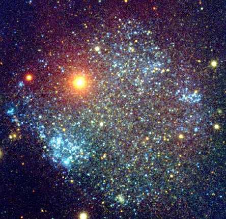 Sextans A: una galaxia aparentemente cuadrada