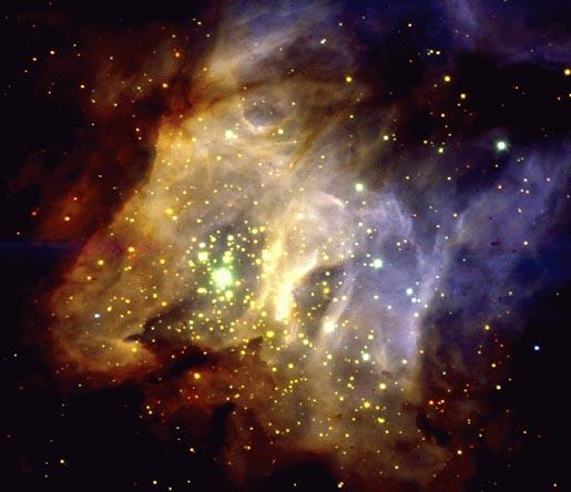 Región de formación estelar RCW38