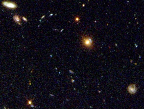 El Campo Profundo Sur del Hubble