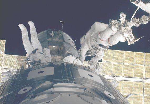 Armando al Estación Orbital Internacional