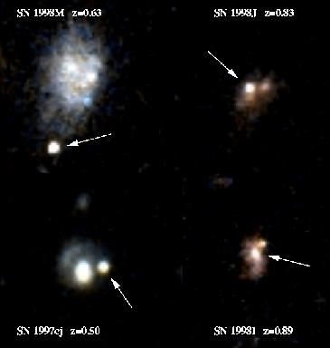 El año de las supernovas lejanas