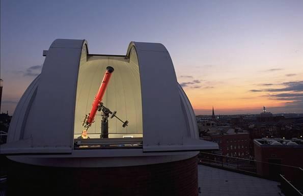 Observatorio refractor conmemorativo de Crosby Ramsey