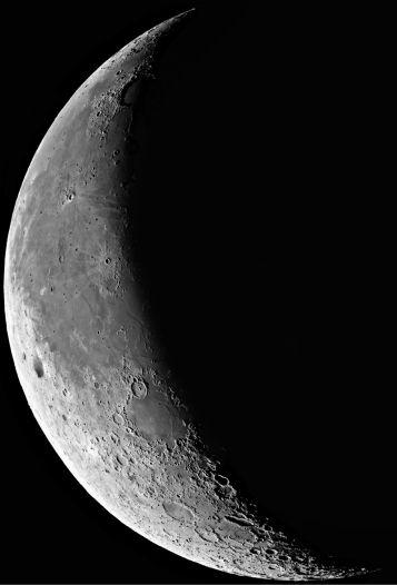 La luna en enero